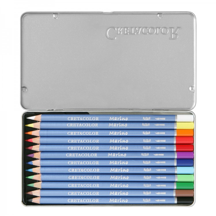 Cretacolor : Marino Watercolour Pencils set of 12