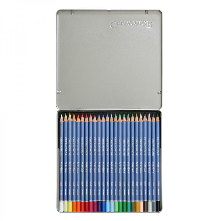 Cretacolor : Marino Watercolour Pencils set of 24