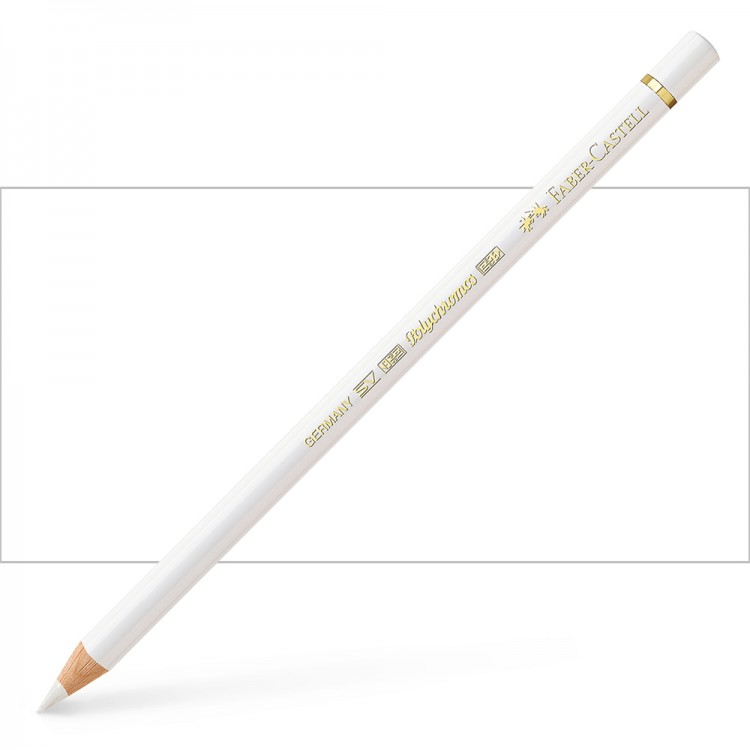 Faber Castell : Polychromos Pencil : White