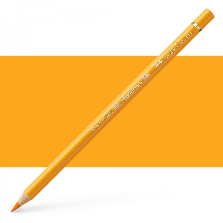 Faber Castell : Polychromos Pencil : Dark Chrome Yellow