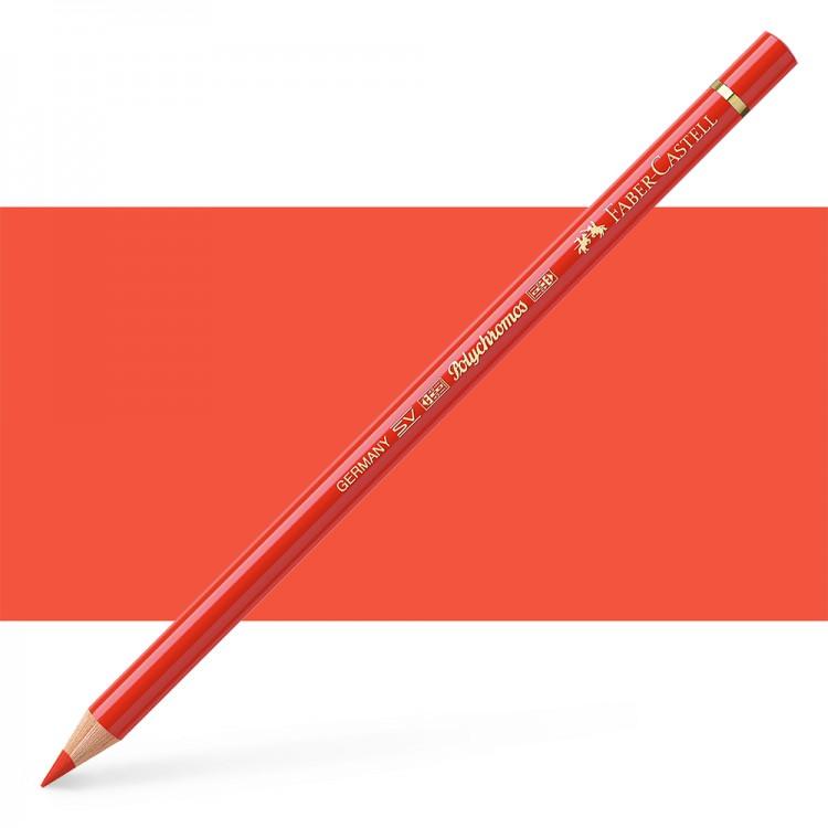 Faber Castell : Polychromos Pencil : Light Cadmium Red