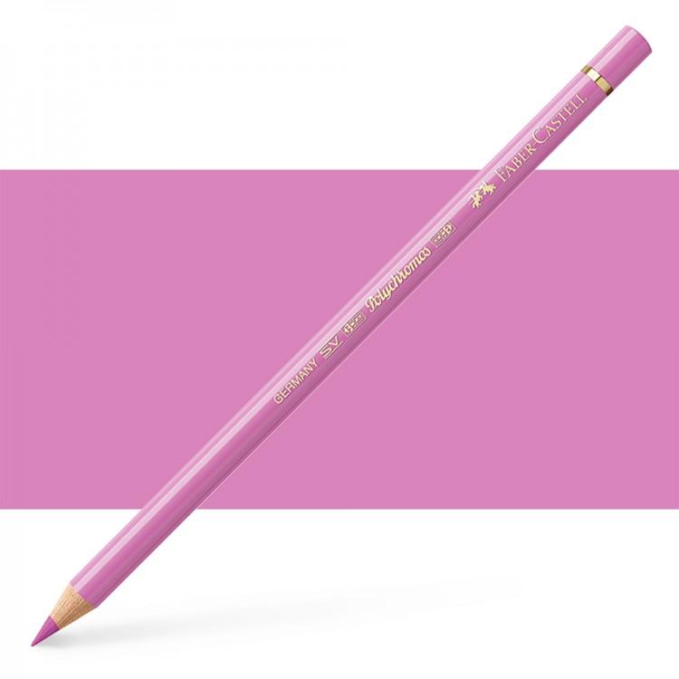 Faber Castell : Polychromos Pencil : Light Magenta