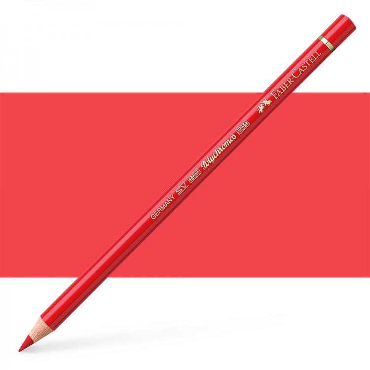 Faber Castell : Polychromos Pencil : Pale Geranium Lake