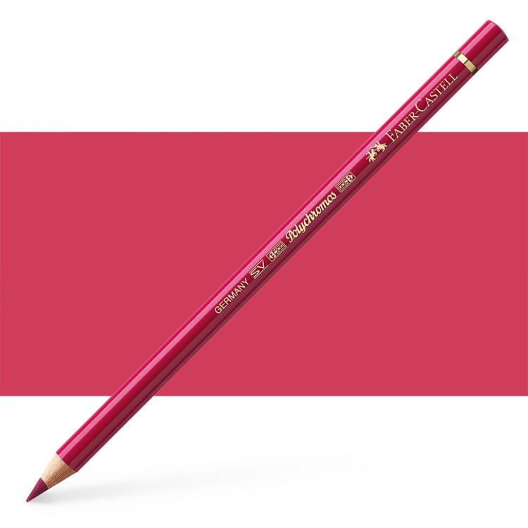 Faber Castell : Polychromos Pencil : Madder