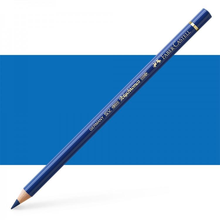 Faber Castell : Polychromos Pencil : Helio Blue Reddish