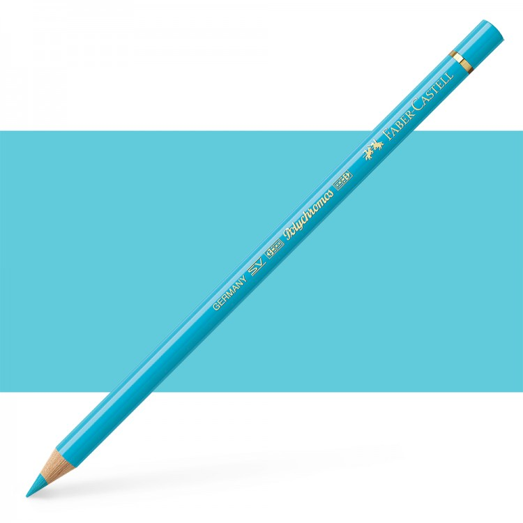 Faber Castell : Polychromos Pencil : Light Cobalt Turquoise