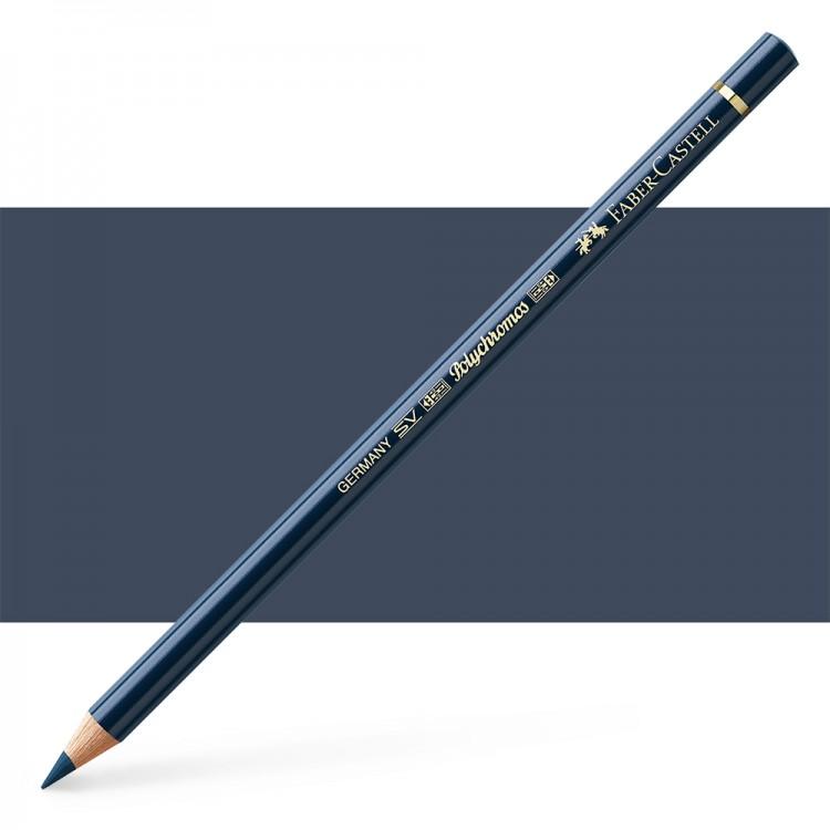 Faber Castell : Polychromos Pencil : Dark Indigo