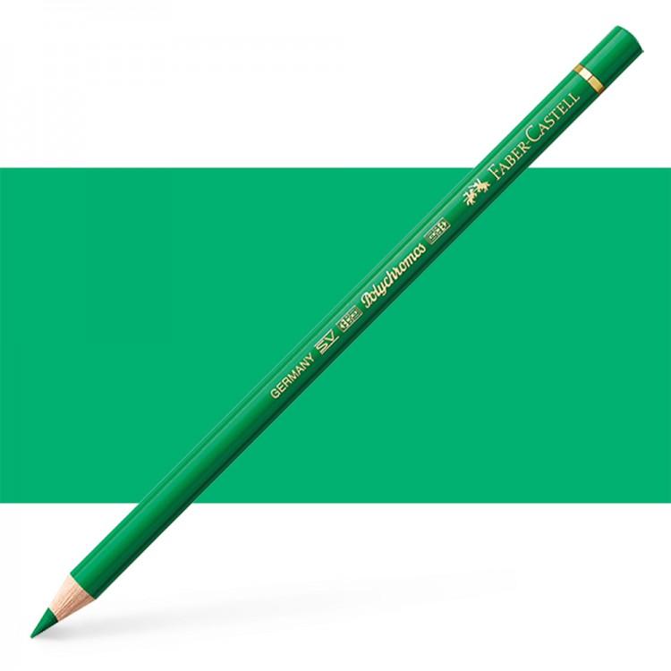 Faber Castell : Polychromos Pencil : Emerald Green