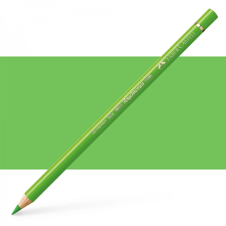 Faber Castell : Polychromos Pencil : Grass Green