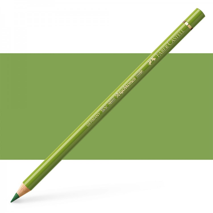 Faber Castell : Polychromos Pencil : Earth Green Yellowish