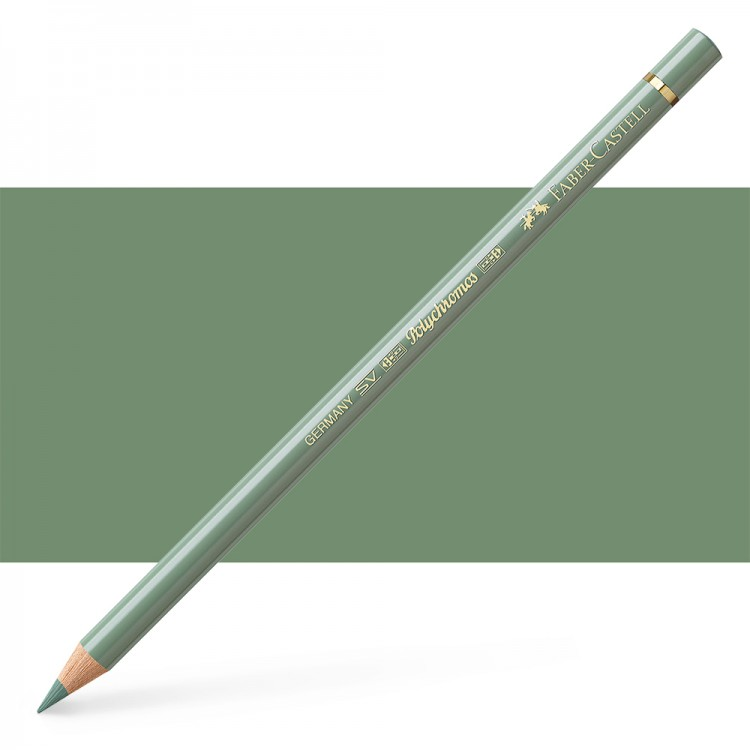 Faber Castell : Polychromos Pencil : Earth Green