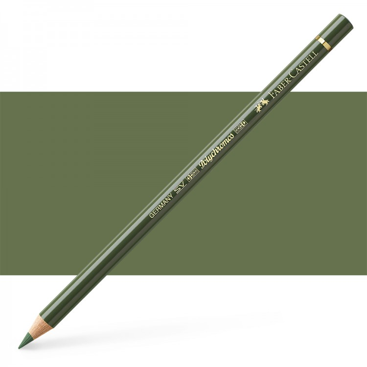 Faber Castell : Polychromos Pencil : Chrome Green Opaque