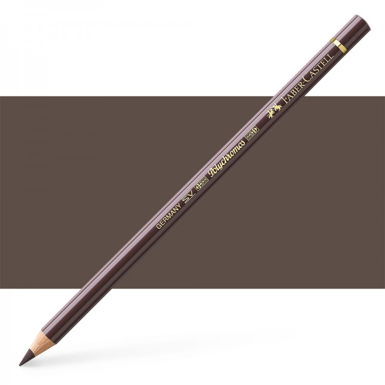 Faber Castell : Polychromos Pencil : Walnut Brown