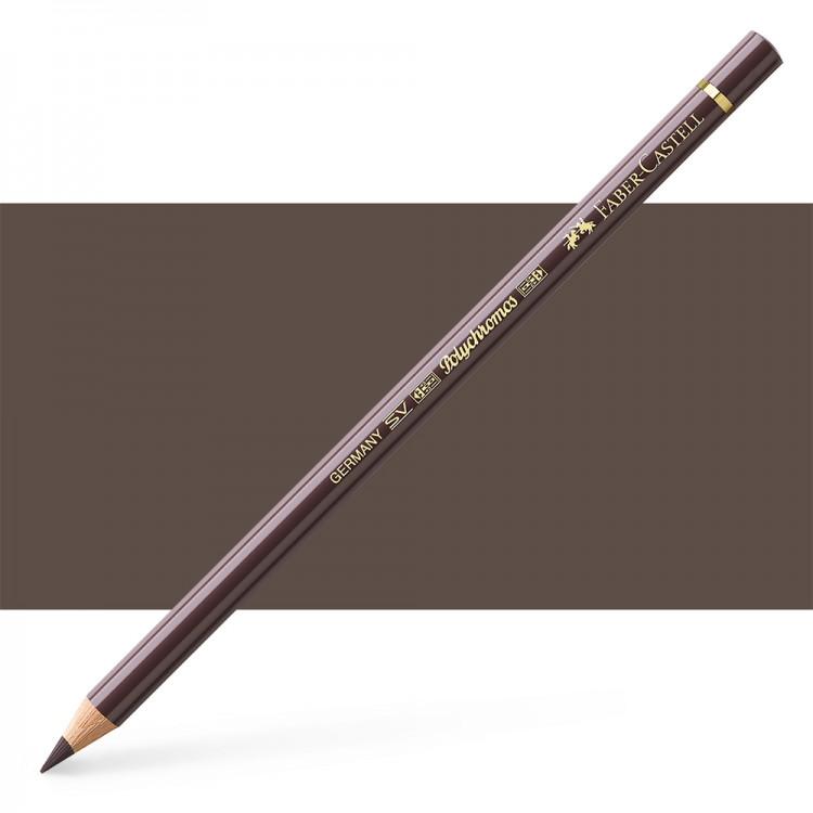 Faber Castell : Polychromos Pencil : Walnut Brown