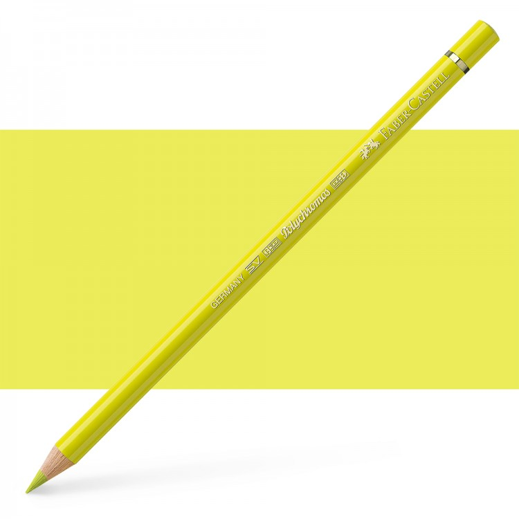 Faber Castell : Polychromos Pencil : Cadmium Yellow Lemon
