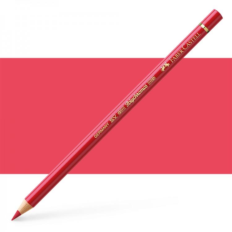 Faber Castell : Polychromos Pencil : Deep Scarlet Red