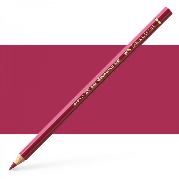 Faber Castell : Polychromos Pencil : Dark Red