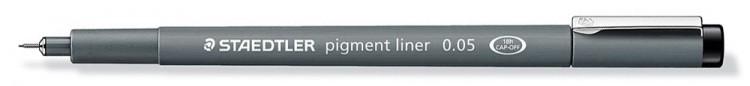 Staedtler : 0.05 Pigment Liner Pen
