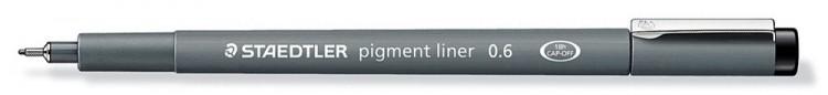 Staedtler : 0.6 Pigment Liner Pen