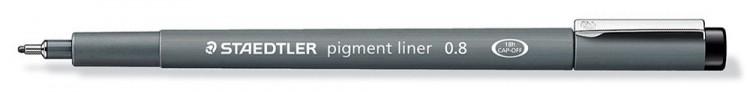 Staedtler : 0.8 Pigment Liner Pen