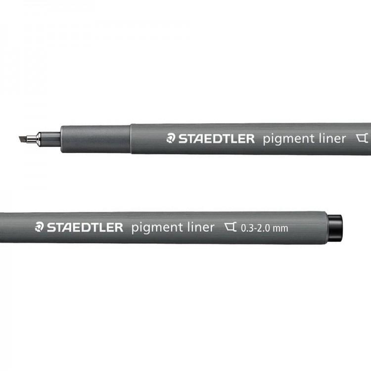 Staedtler : Pigment Liner Pen : Chisel Tip