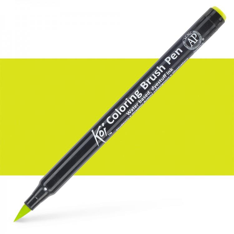 Sakura : Koi : Color Brush Pen : Fresh Green