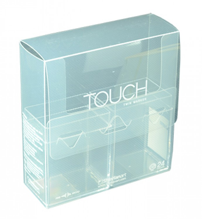Shin Han : Empty Touch Twin 24 BRUSH Marker Pen Case (Excludes Marker Pens)
