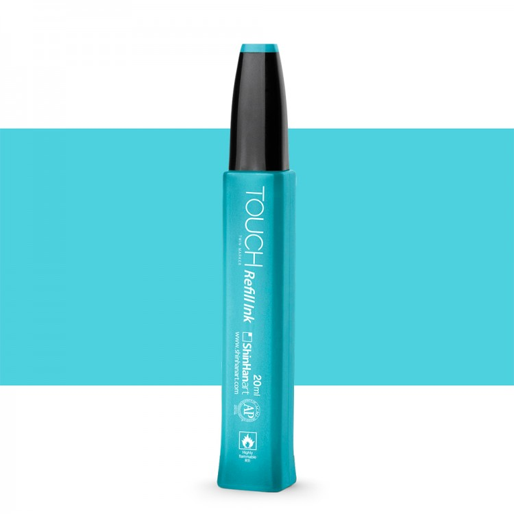Shin Han : Touch Twin Marker Refill : 20ml : Pastel Blue B67