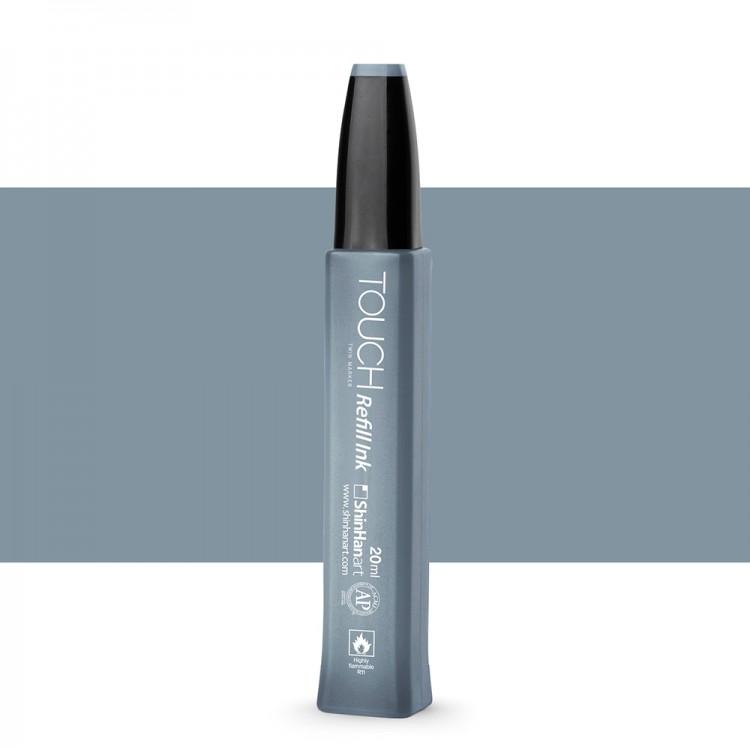 Shin Han : Touch Twin Marker Refill : 20ml : Blue Grey BG5
