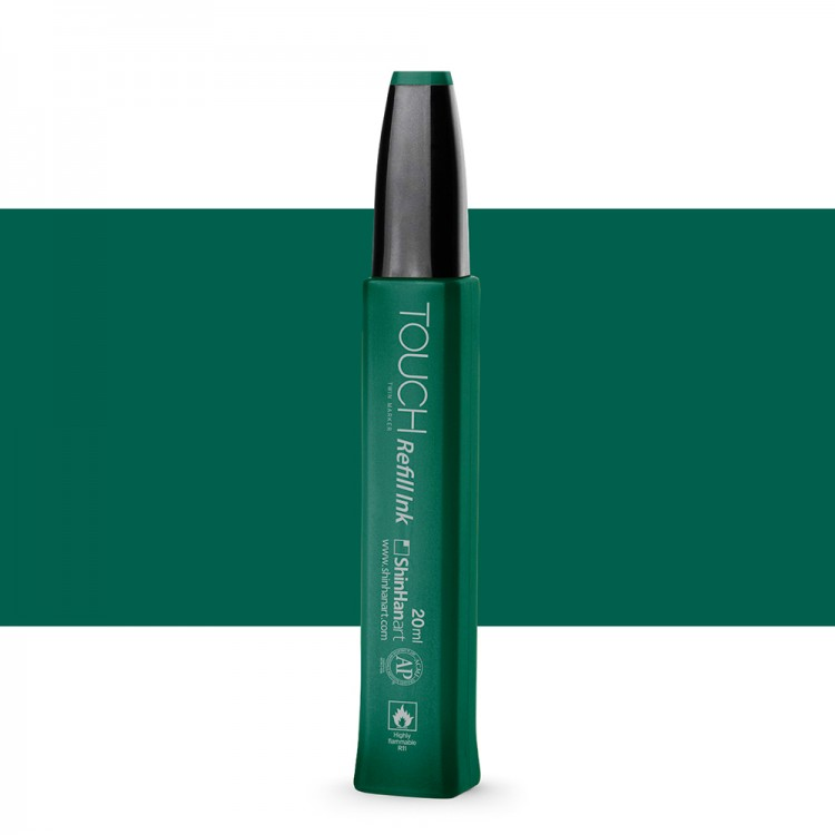 ShinHan : Touch Twin Marker Refill : 20ml : Dark Green BG51
