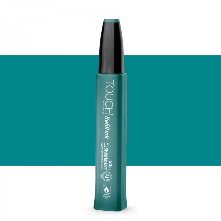 ShinHan : Touch Twin Marker Refill : 20ml : Peacock Green BG61