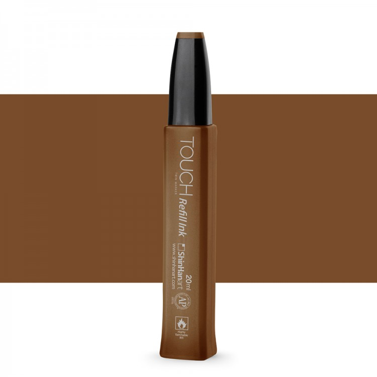 ShinHan : Touch Twin Marker Refill : 20ml : Raw Umber BR102