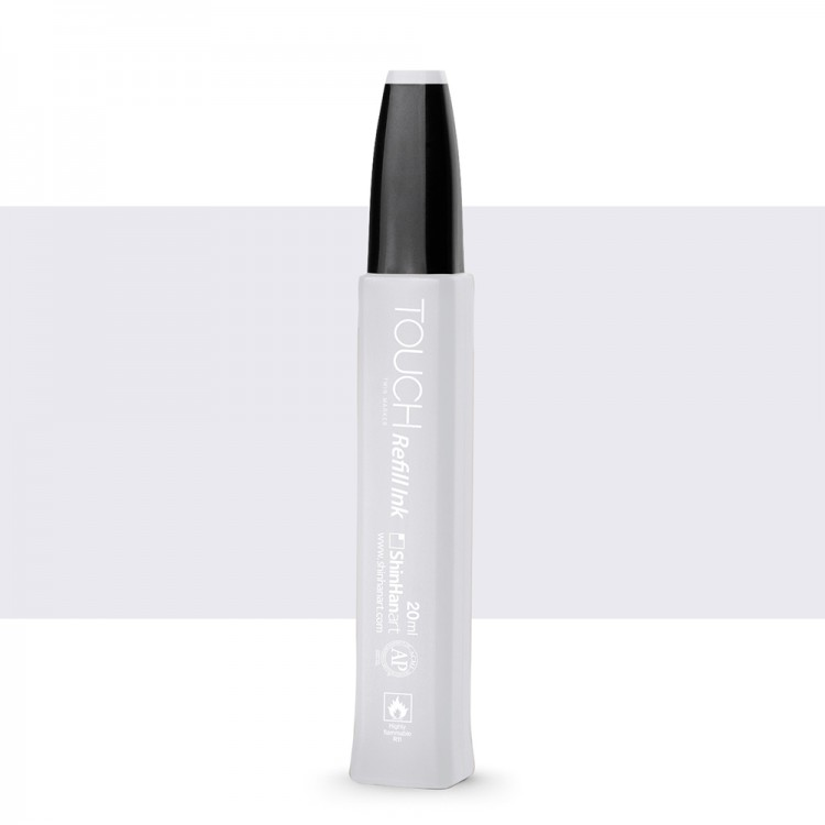 ShinHan : Twin Touch Marker Refill : 20ml : Cool Grey CG0.5