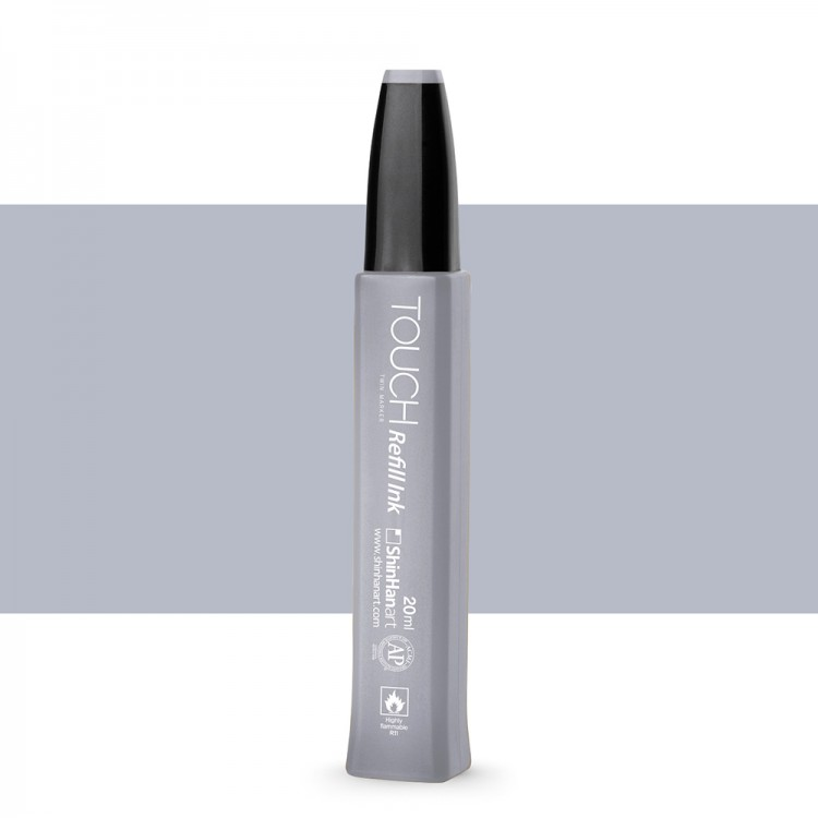 ShinHan : Twin Touch Marker Refill : 20ml : Cool Grey CG3