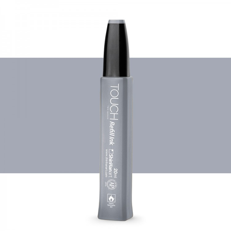 ShinHan : Touch Twin Marker Refill : 20ml : Cool Grey CG4