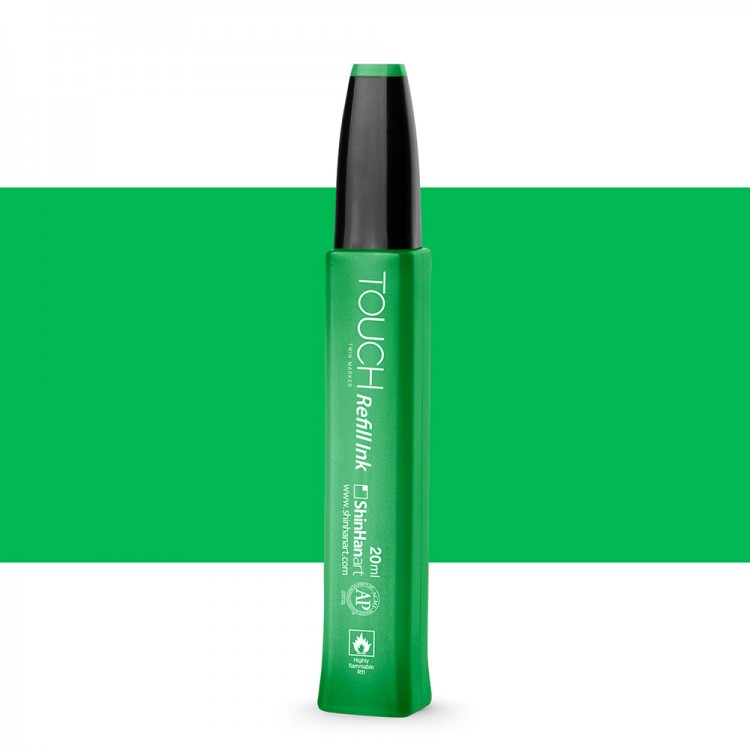ShinHan : Twin Touch Marker Refill : 20ml : Vivid Green G46
