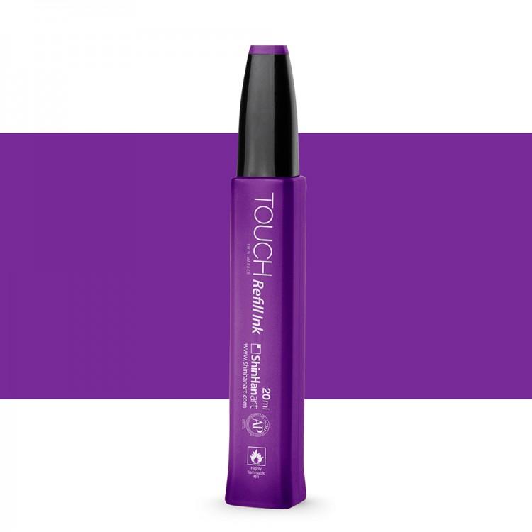 ShinHan : Touch Twin Marker Refill : 20ml : Deep Violet P81