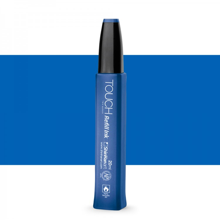 ShinHan : Touch Twin Marker Refill : 20ml : Royal Blue PB70