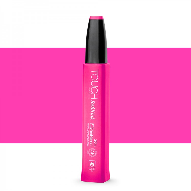 Shin Han : Touch Twin Marker Refill : 20ml : Vivid Pink RP6
