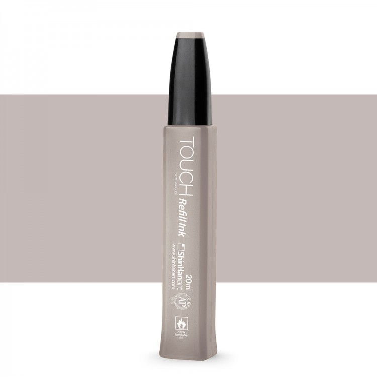 Shin Han : Touch Twin Marker Refill : 20ml : Warm Grey WG3