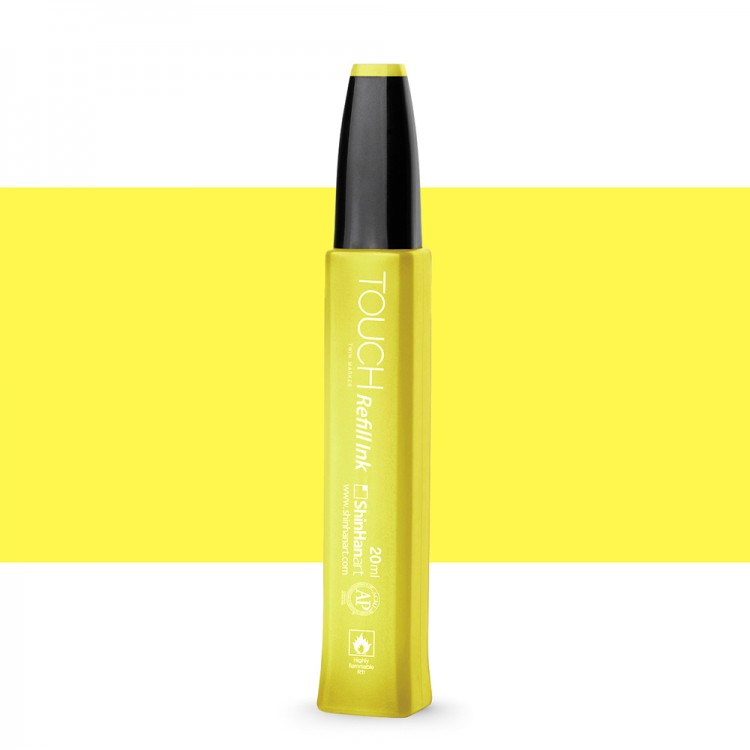 ShinHan : Touch Twin Marker Refill : 20ml : Pastel Yellow Y37
