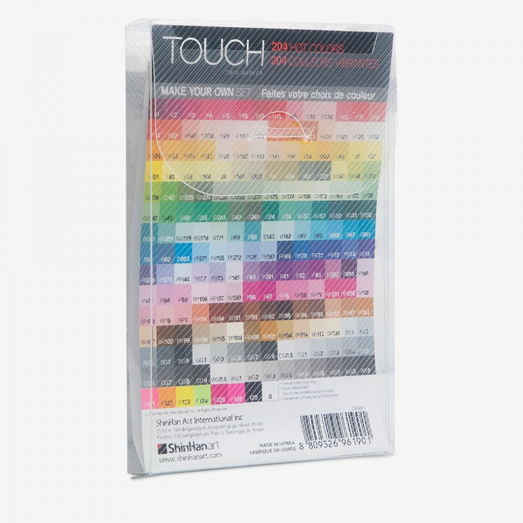 ShinHan : Touch Twin Make Your Own 6 Marker Pen Case (Includes Insert, Excludes Marker Pens)