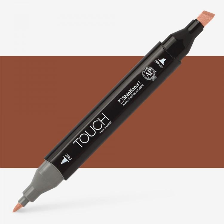 Shin Han : Touch Twin Marker Pen : Burnt Orange : BR93
