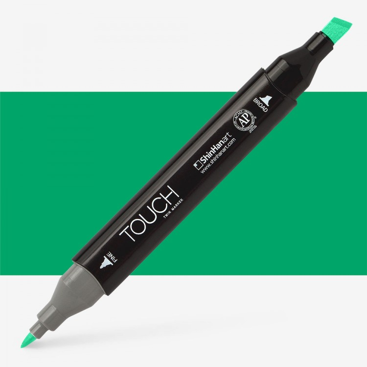 Shin Han : Touch Twin Marker Pen : Emerald Green : G55