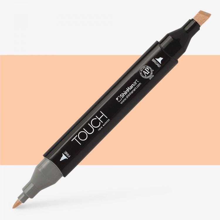 Shin Han : Touch Twin Marker Pen : Salmon Pink : YR25
