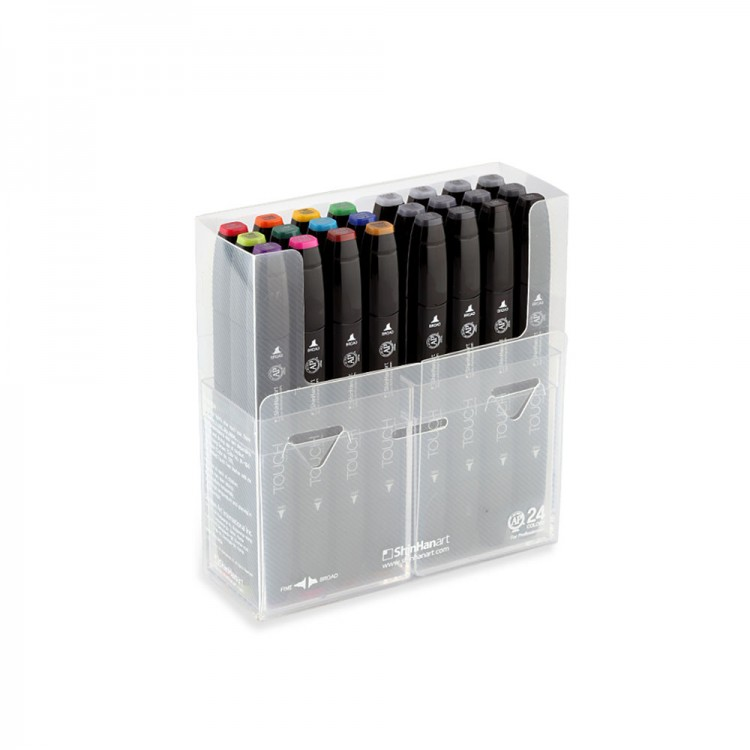 Shin Han : Touch Twin 24 Marker Pen Set : Assorted