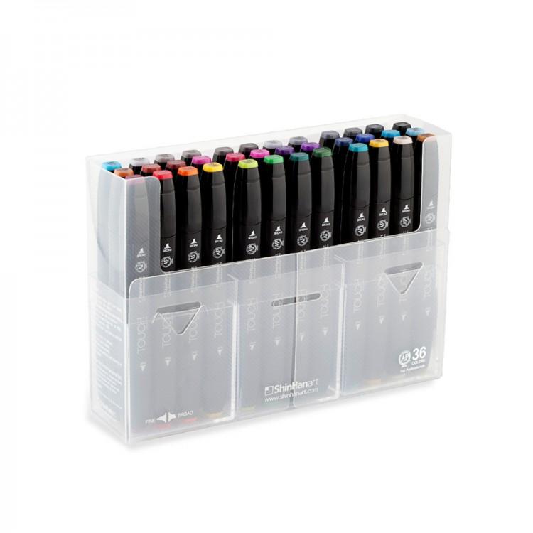 ShinHan : Touch Twin 36 Marker Pen Set : Assorted
