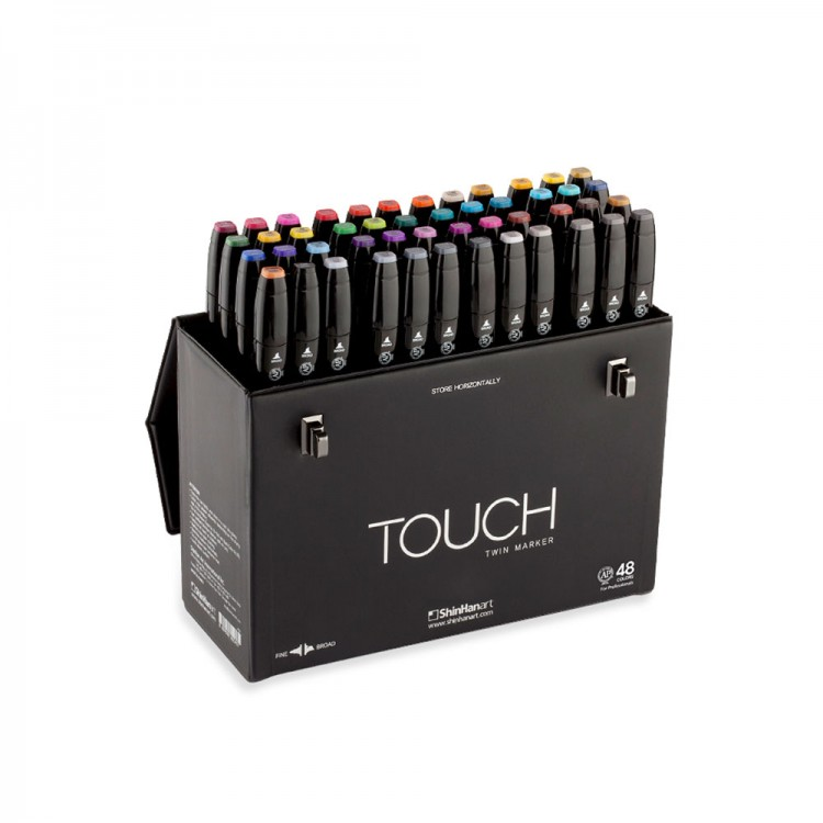 ShinHan : Touch Twin 48 Marker Pen Set : Assorted