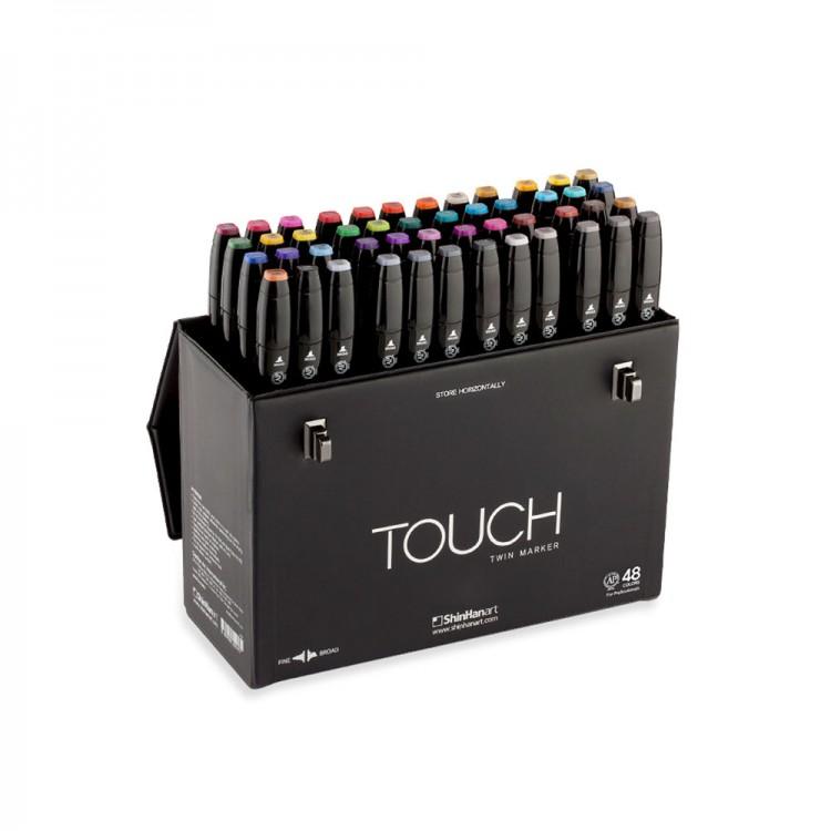 ShinHan : Touch Twin 48 Marker Pen Set : Assorted