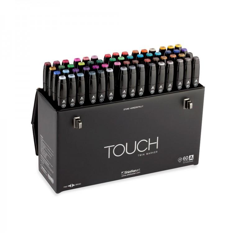 Shin Han : Touch Twin 60 Marker Pen Set : A